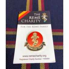 Enamelled Badges on Card