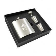 Hip Flask & Shot Glass Set