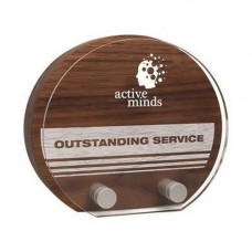 Real Wood with Acrylic Front Award