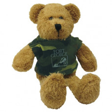 Scraggy Bear with Camouflage Tshirt